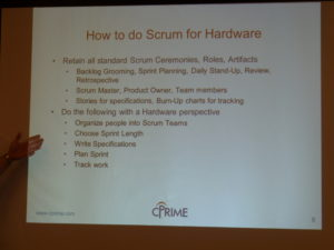 scrum for hardware - how to do it