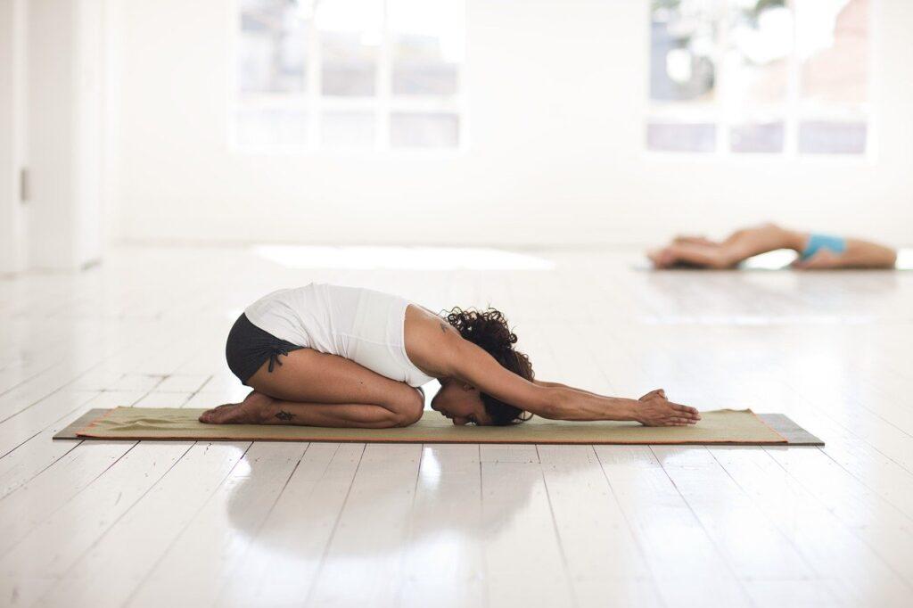 yoga, childs pose, asana