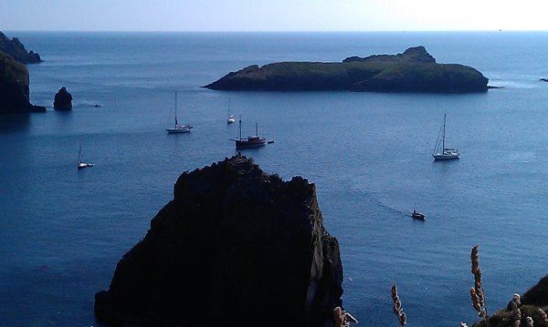 Mullion Cove anchorage
