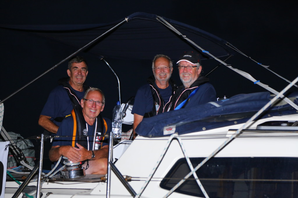 Atlantic crew Me, Barry, Bob & Stephen