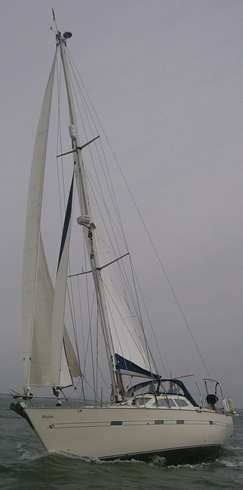 Southerly 135. Mast head cutter rig