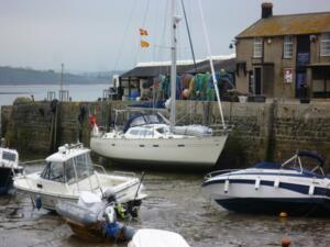 Alongside the Cobb in Lyme Regis