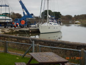 Convenient for Keyhaven Yacht Club