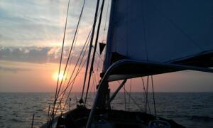 Dawn in Lyme Bay