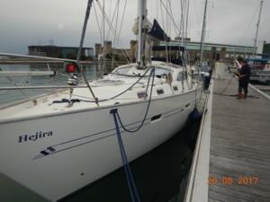 Hejira in Cherbourg