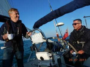 July Passage to Poole with Carl Beetham and John Coe