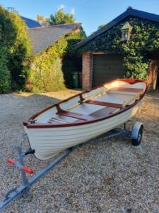 Pretty little 12-foot dinghy soon to be 'Tender To Hejira'