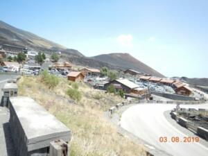 The ski resort where we parked and took the cable car