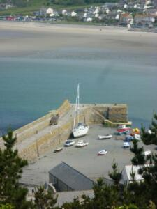 View from St Michaels Mount Castle
