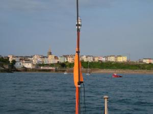 Tenby from the RNLI mooring