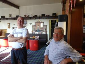 m_Dave and Mike in the uninspiring pub in Colwyn Bay. They did serve breakfast and show the rugby though.