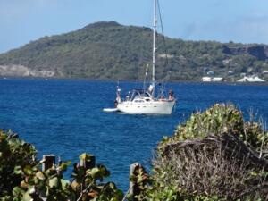 m_Anchored off Petit Nevis