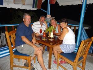 Island Paradise restaurant, Mayreau
