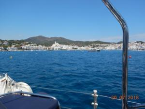 Cadaques from the mooring