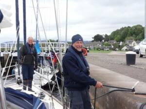 m_Locking into the Caledonian Canal