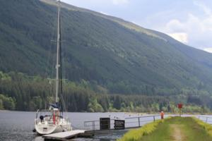 Moored in the heart of Scotland