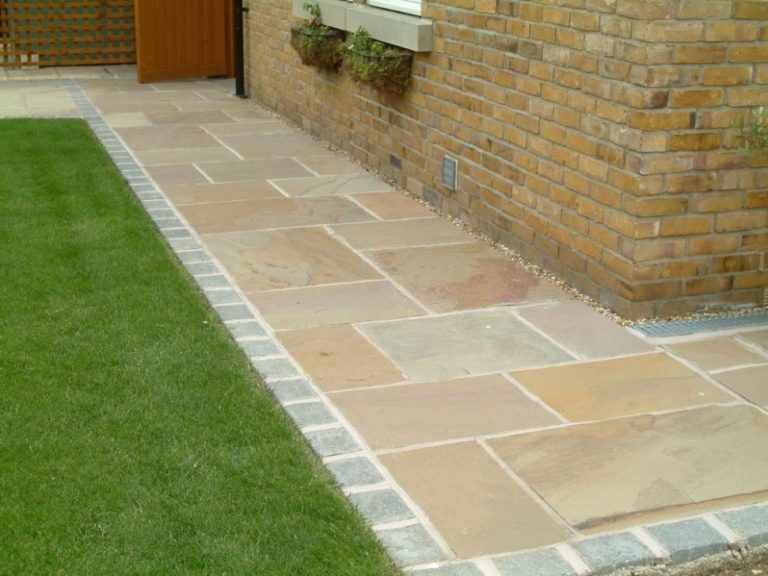 Indian Sandstone Paving Natural Stone Patio Flags