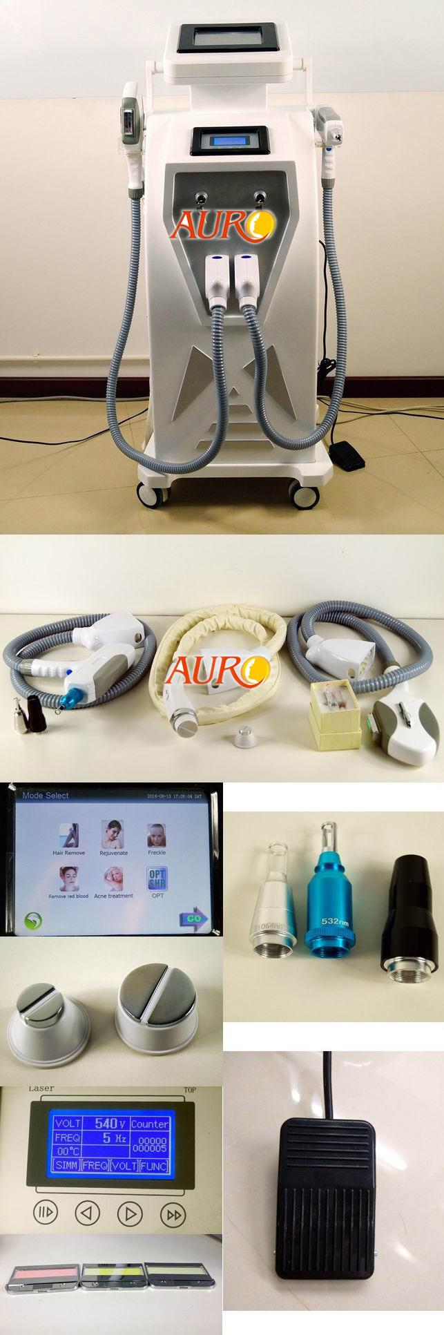 ND yag laser tattoo removal beauty machine