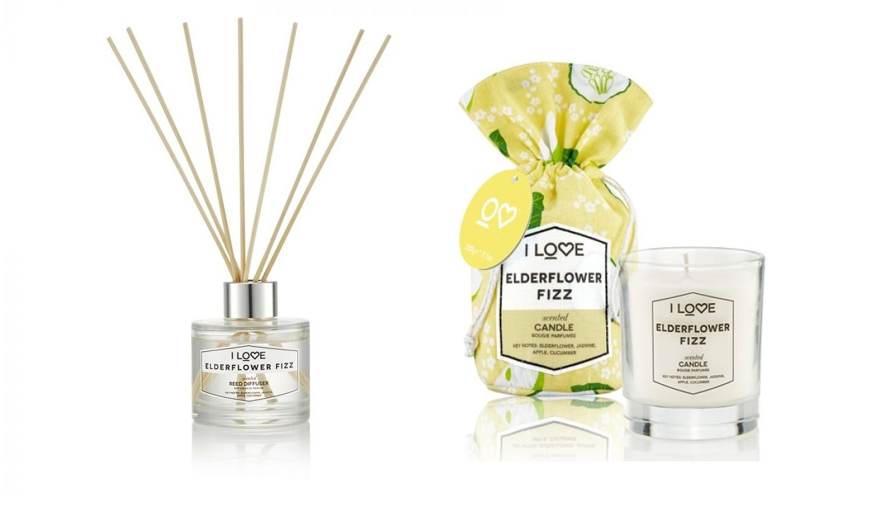 Win a candle and reed diffuser from I Love Cosmetics