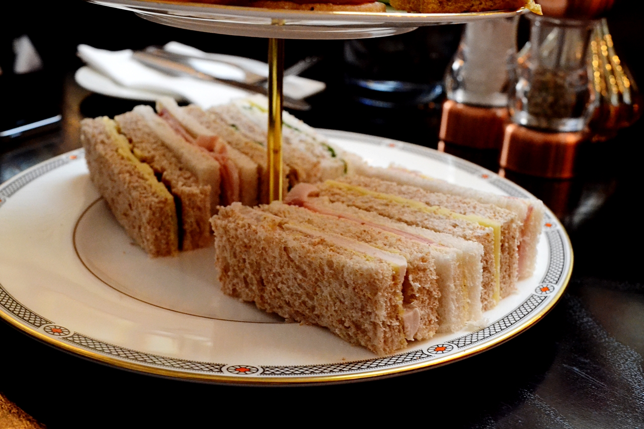 sandwiches afternoon tea the courthouse cheshire