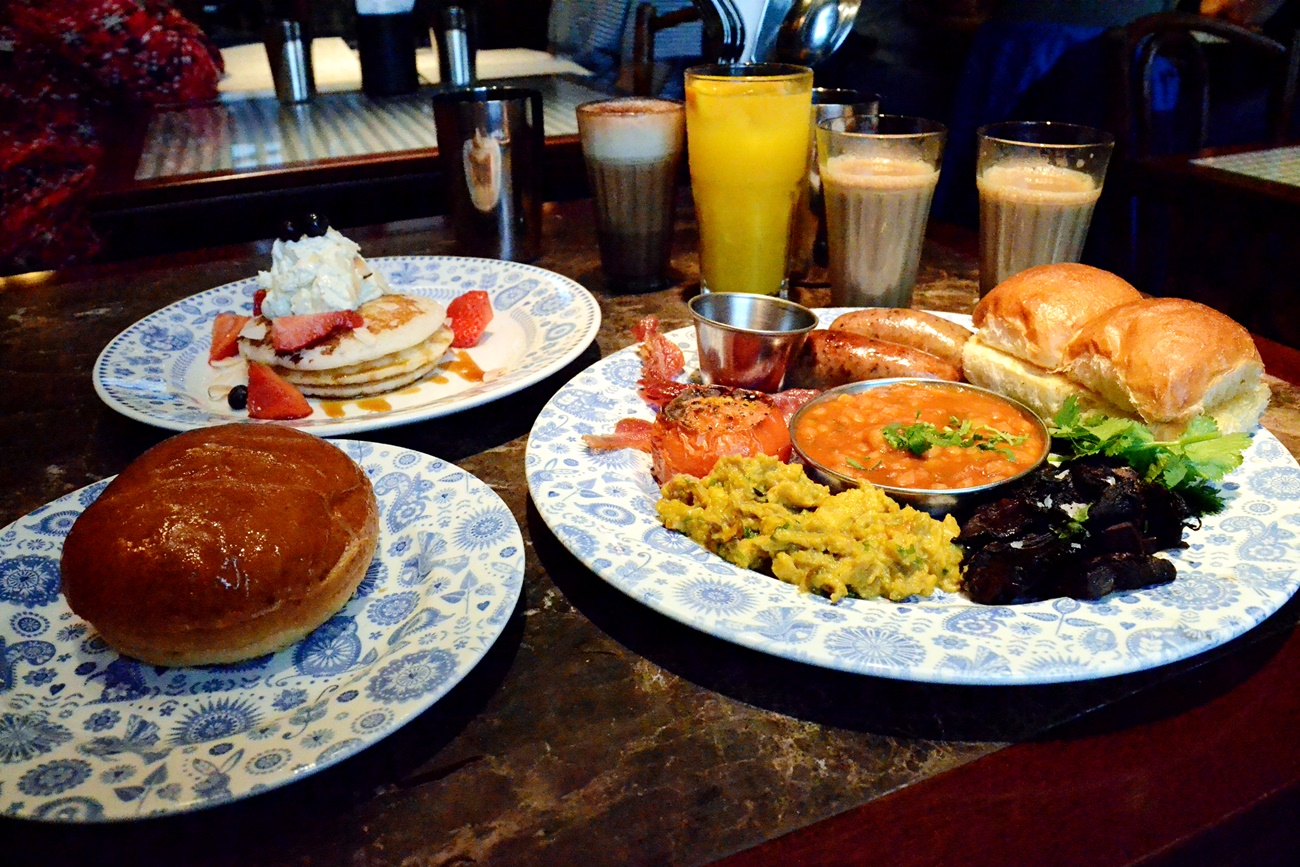 dishoom indian breakfast manchester