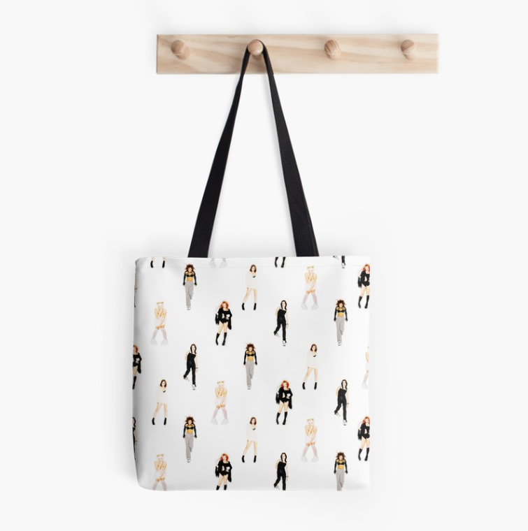 spice girls tote bag