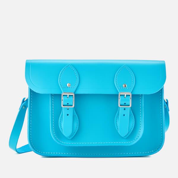 Neon Blue Satchel Bag- £81 Cambridge Satchel