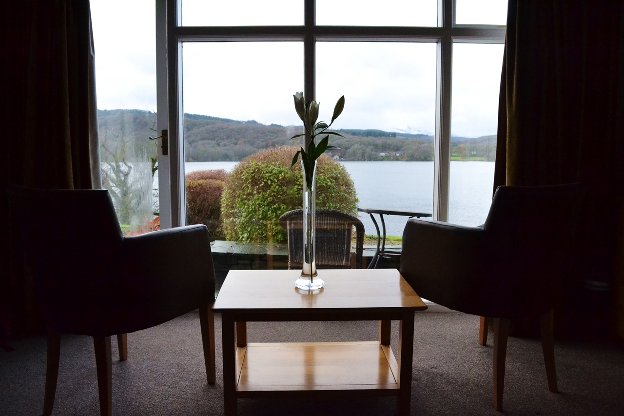 beech hill hotel bowness view from room bedroom