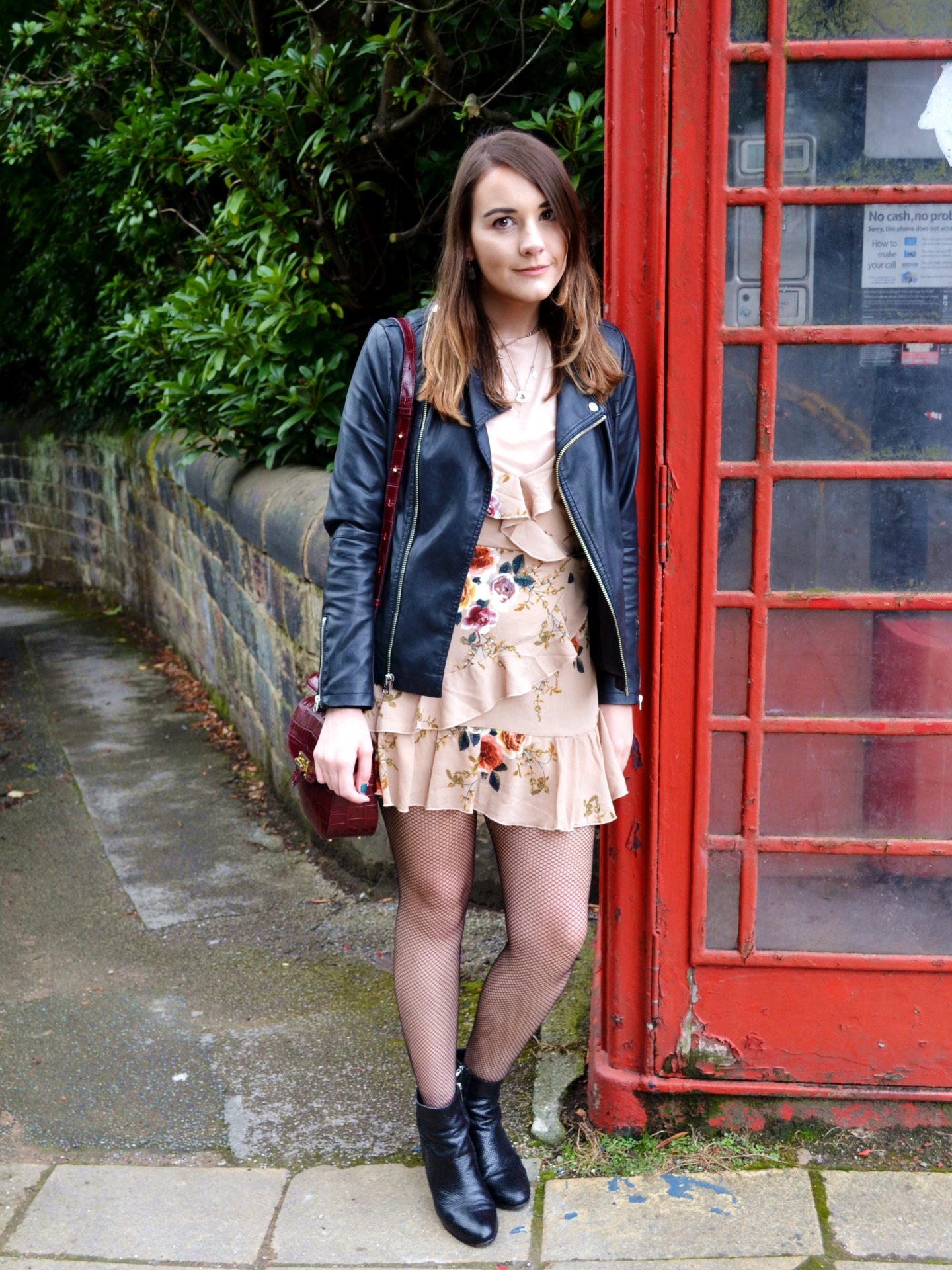 telephone box british fashion styleetc style etc florals