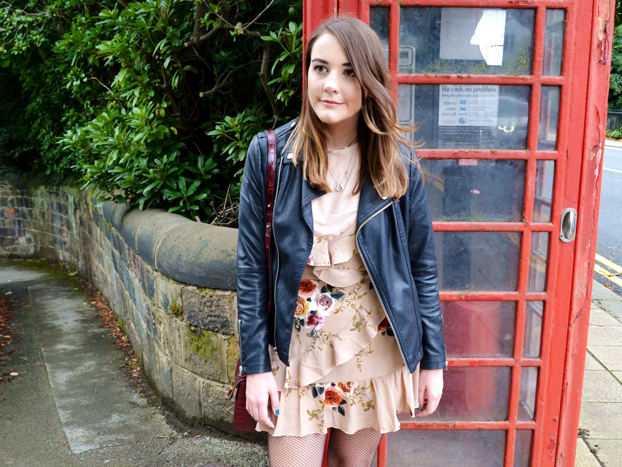 how to wear floral ruffles alternative