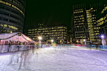 Spinningfields Ice Rink Launch