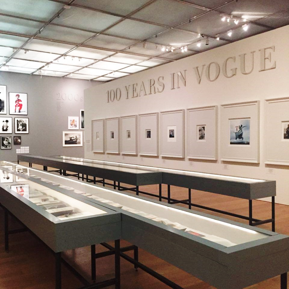 vogue 100 exhibition manchester art gallery