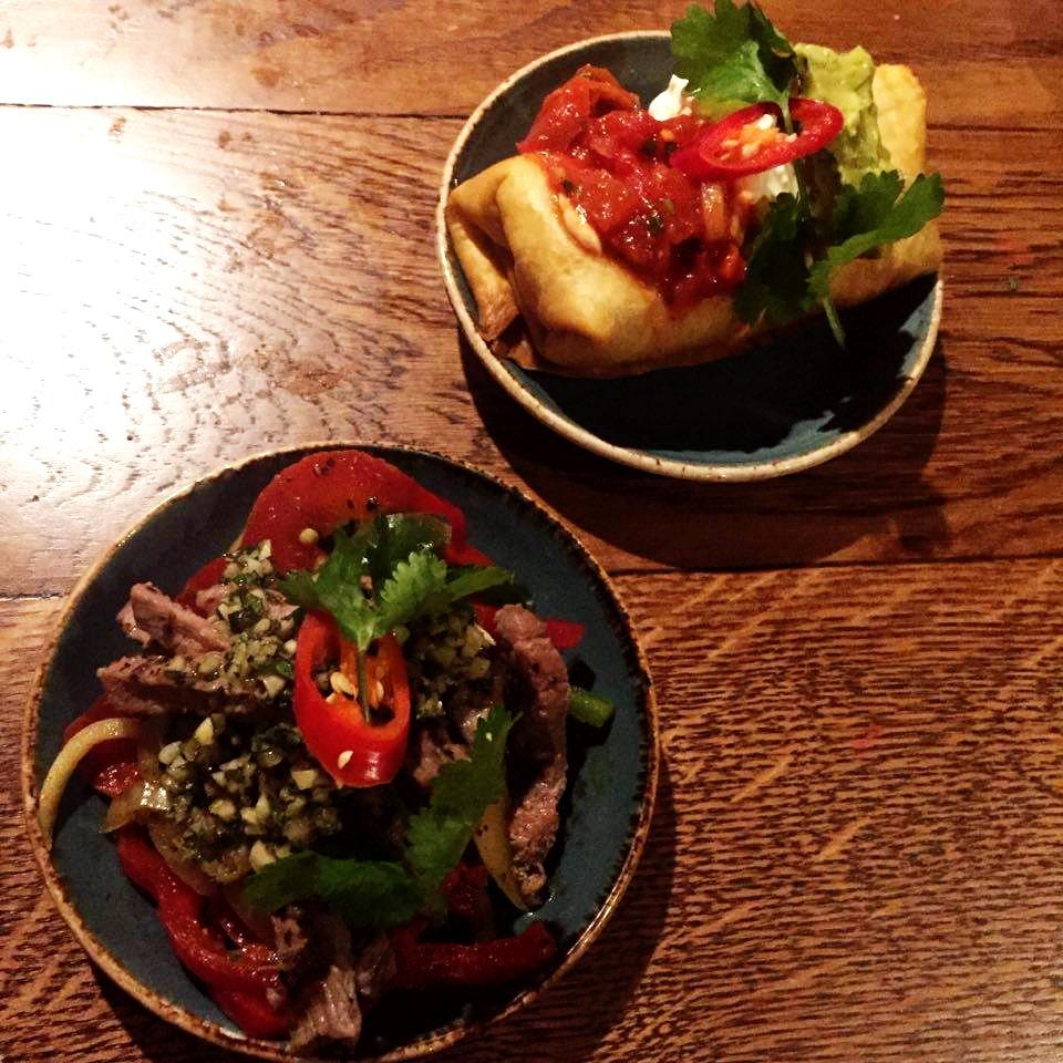 Chiquitos #ChiquilaChiquito's chimichurri skirt steak