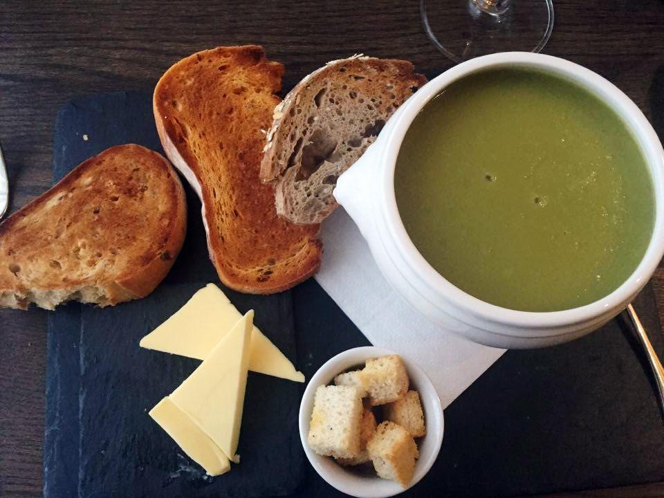 potato and leek soup north the grange hotel bristol