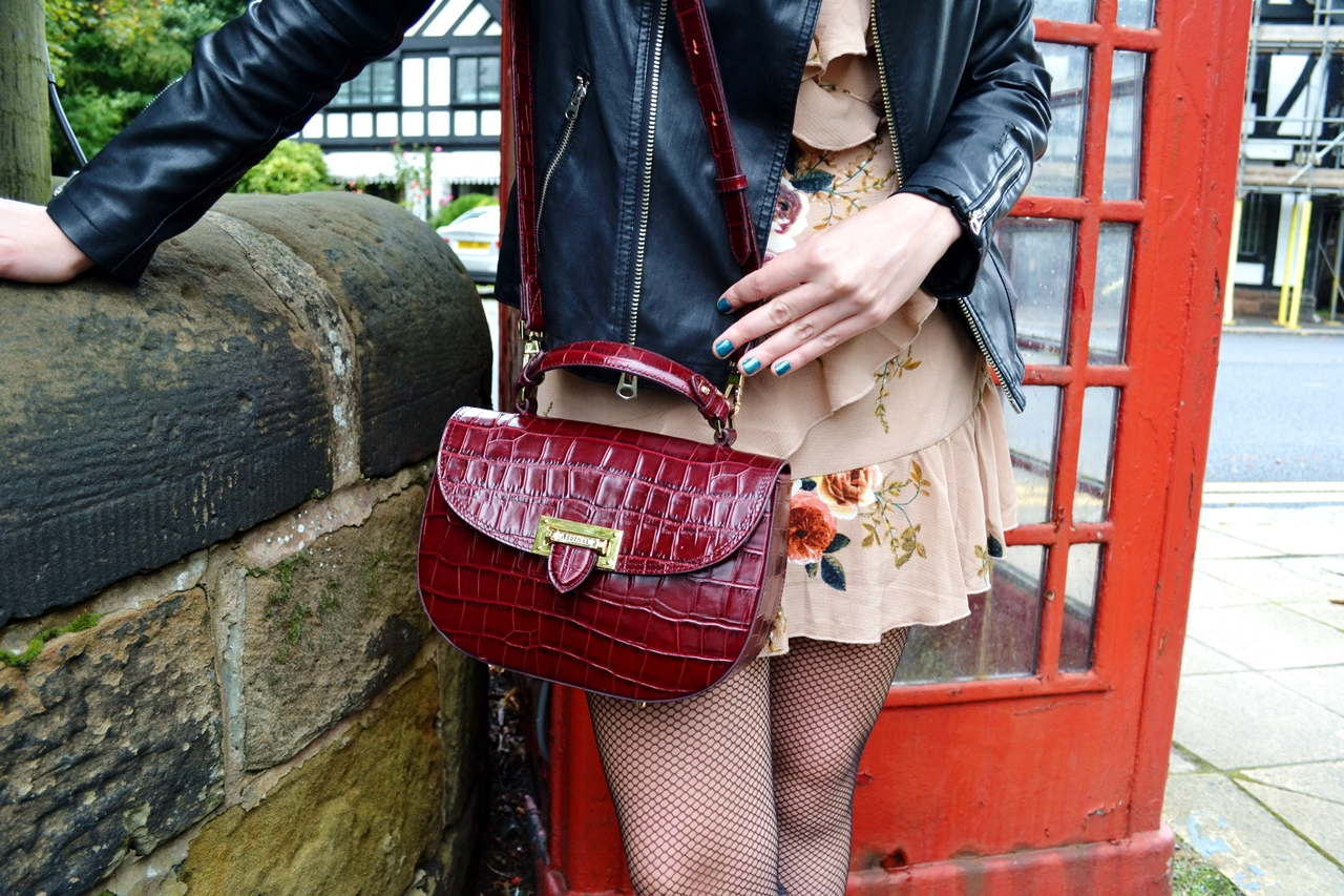 aspinal of london bordeaux oxblood letterbox addle bag