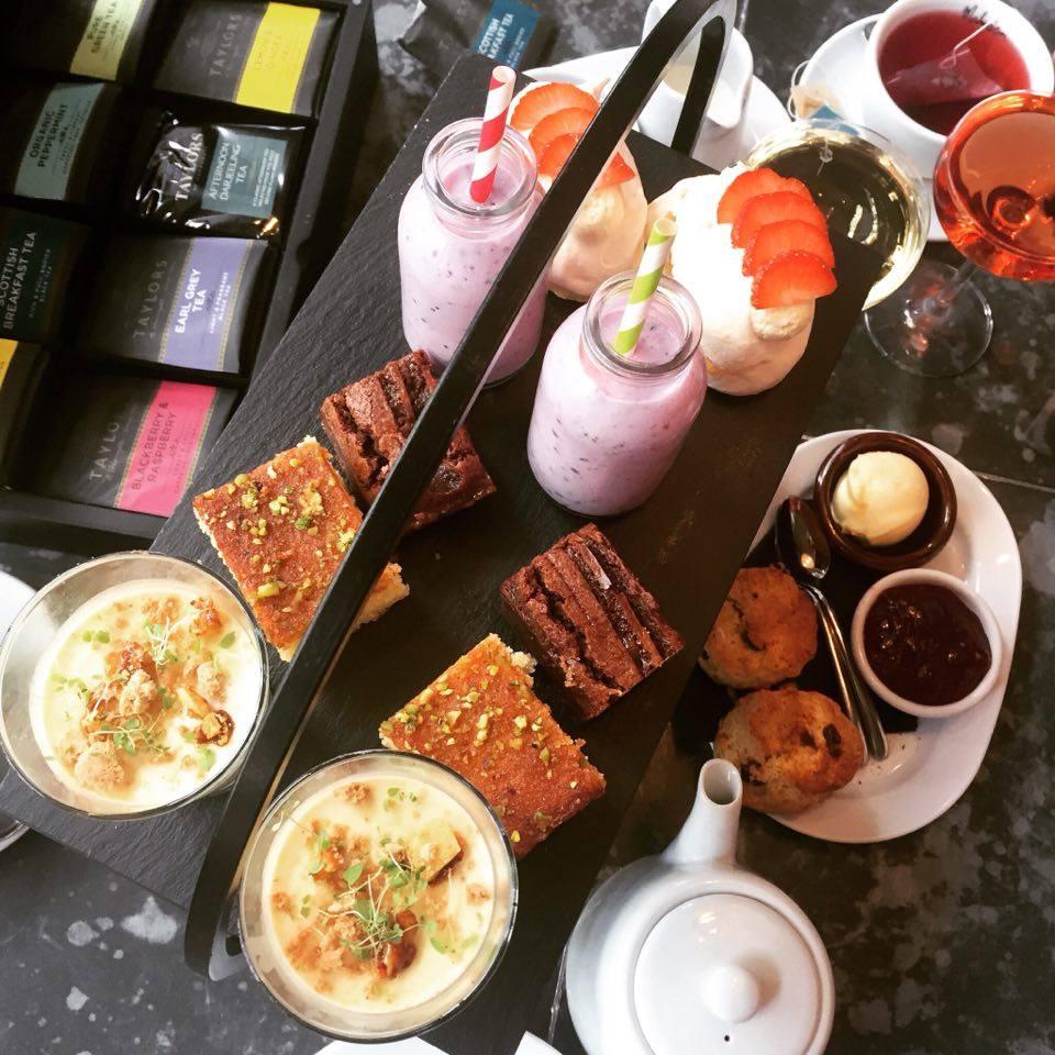 malmaison afternoon tea menu manchester
