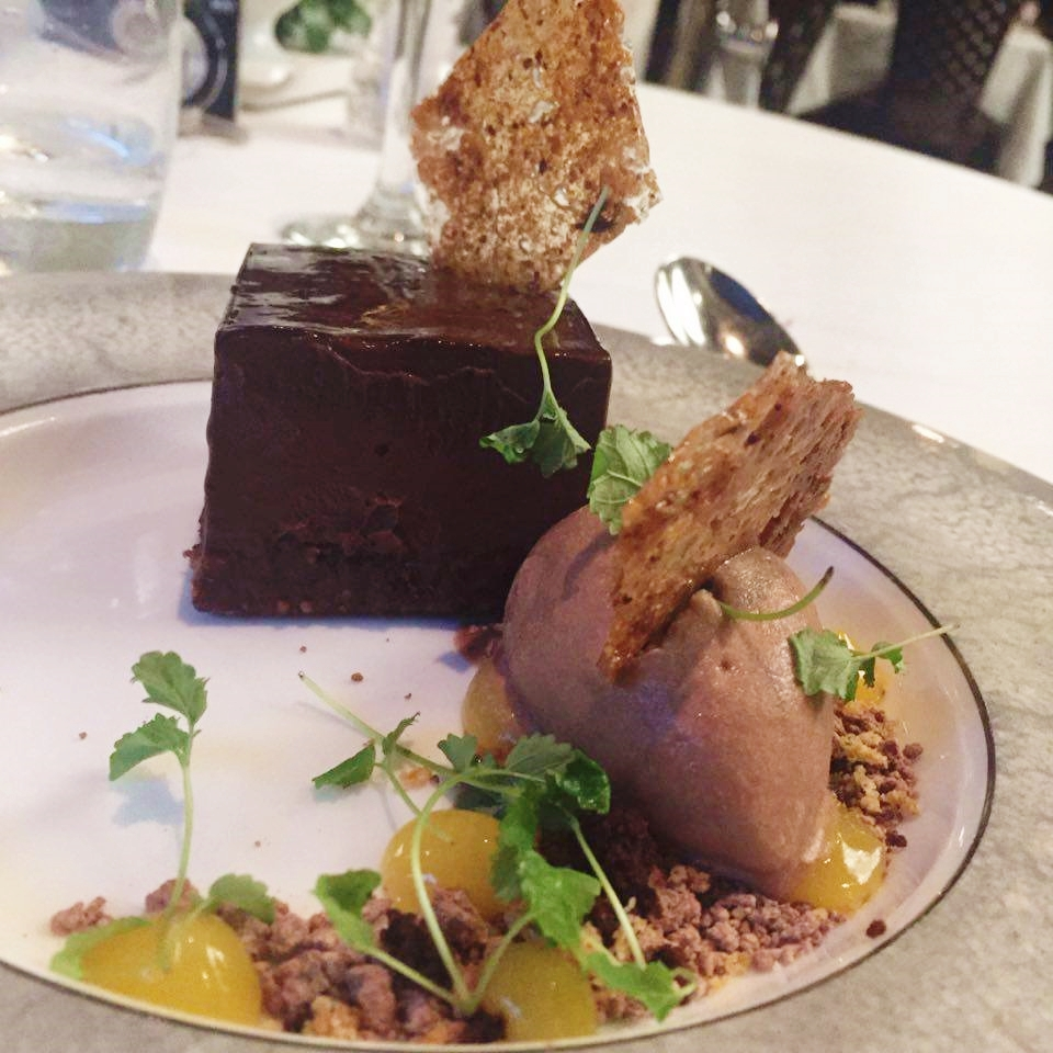 peacock room review rochdale chocolate delice dessert