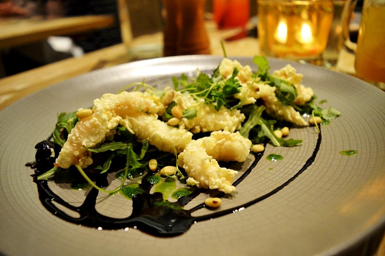 fried squid tentacle george's worsley starters