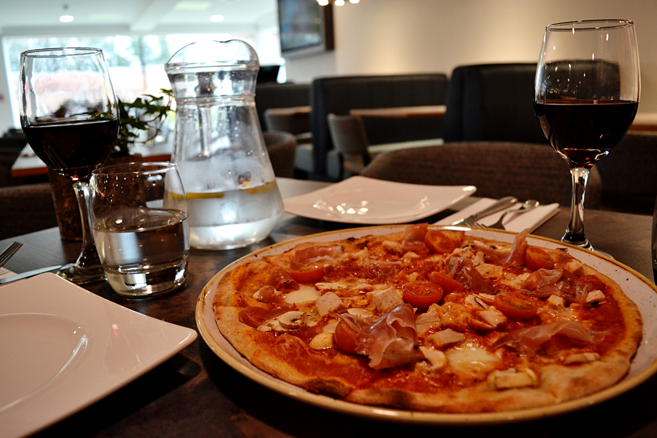 pizza garden room and terrace lunch menu