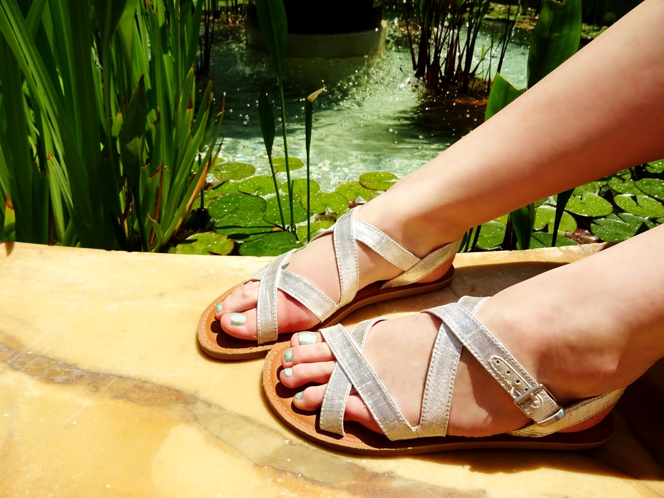 womens sicily sandals silver