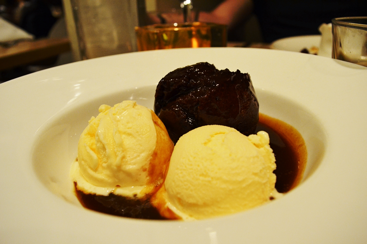 sticky toffee pudding george's worsley