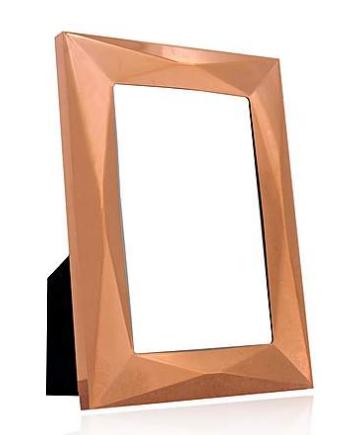 Dunelm Copper Pressed Metal Frame