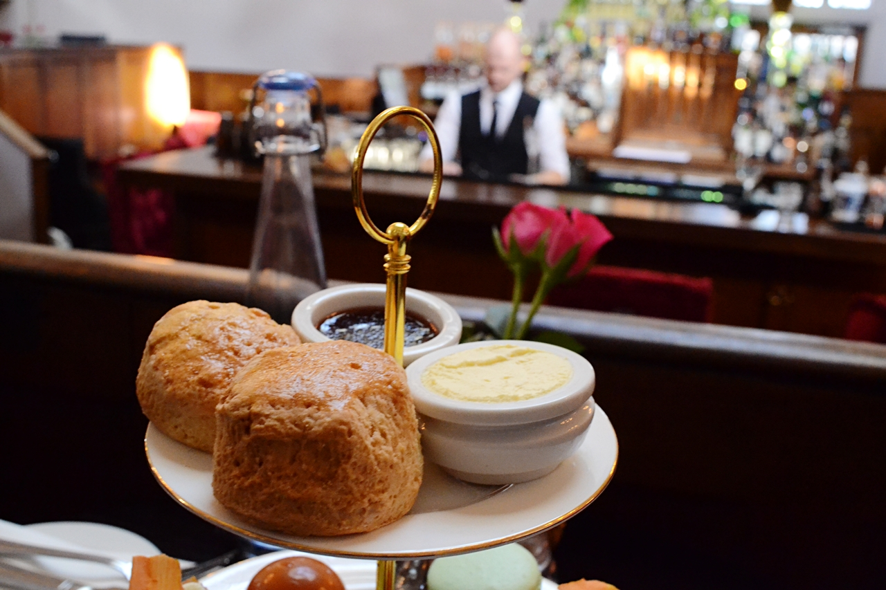scones cream and jam afternoon tea knutsford courthouse