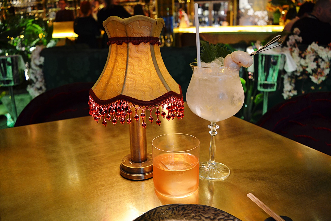 cocktails at the ivy manchester