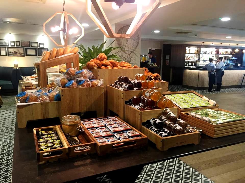 breakfast pastries doubletree hilton