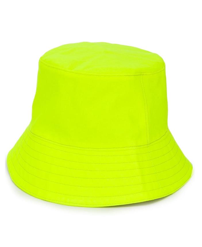 Neon Yellow Bucket Hat - £232 Manokhi