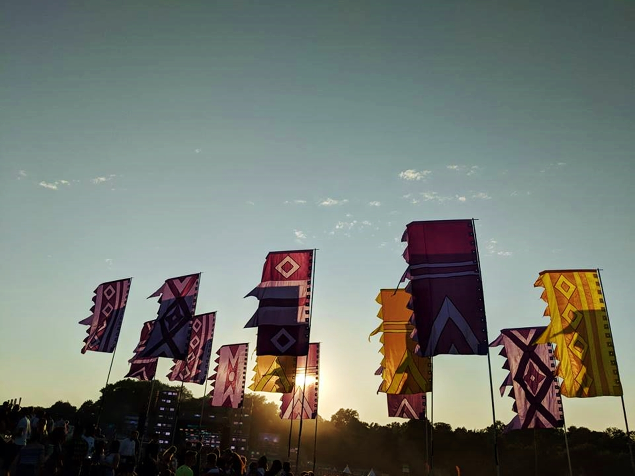 parklife flags 2018
