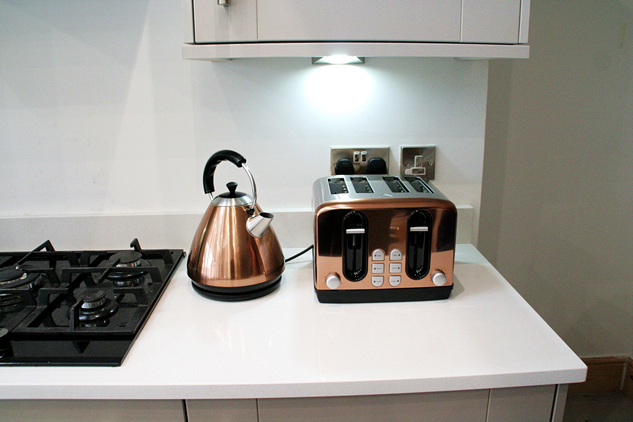 Copper Kitchen Appliances with Wilko