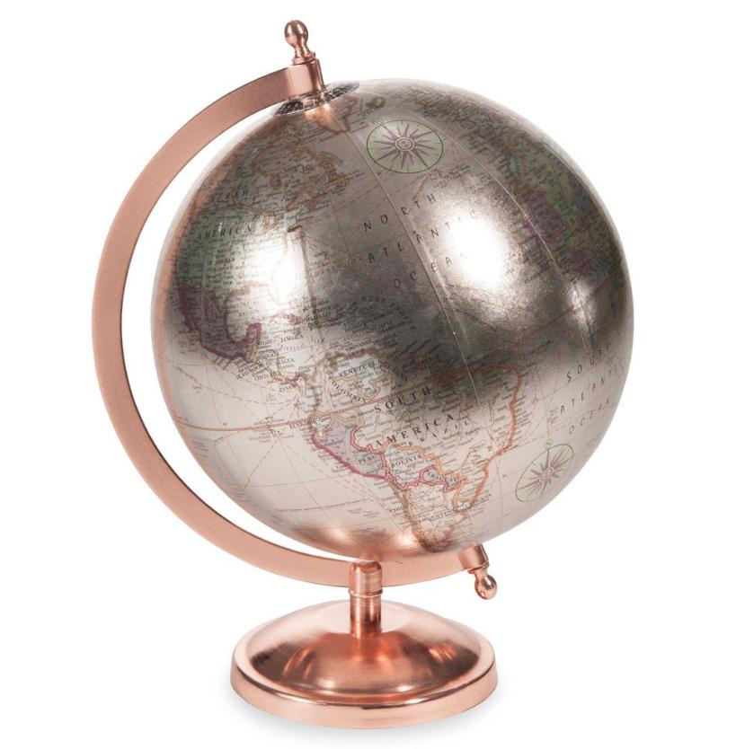 Maisons Du Monde Copper Glace Globe