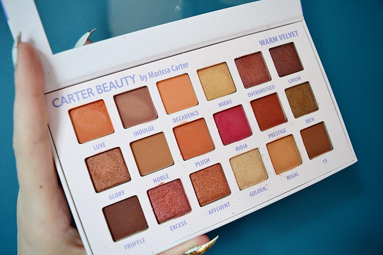 carter beauty warm velvet palette